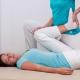 Shiatsu Behandlung - Hüftrotation